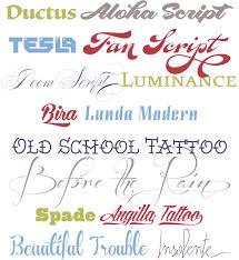 angilla tattoo font family linotype com