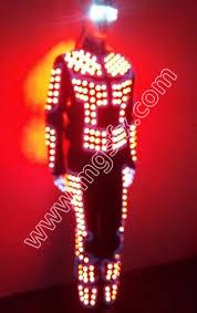cs0069 light up suit led costume luminous costume co2 jet