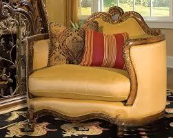 Aico Sofa Aico Wood Trim Chair And A Half Palais Royale Ai 71838 Brgld 35
