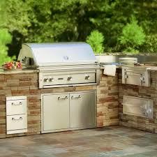 Outdoor Bbq Best 25 Built In Gas Grills Ideas On Pinterest Backyard Kitchen