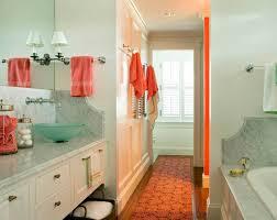 Orange Bathroom Ideas Colors Bathroom Design Bath Accessories Sea Foam And Coral Color