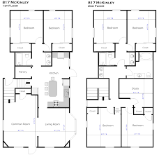 2 floor villa plan design small rectangular house plan design featuring 4 bedrooms second