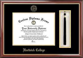 degree frames hartwick college diploma frames certificate framing hc hawks