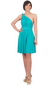 marielle convertible bridesmaid multi wrap knee length dress