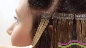 lcp extensions anleitung tapeon extensions skin weft anbringen und neu bekleben