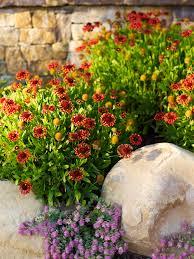 beautiful fake flower arrangementsin landscape traditional with