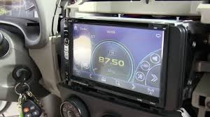 toyota car stereo how to install bluetooth touch screen car stereo w gps backup