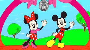 disney u0027s mickey mouse coloring children mickey minnie mouse