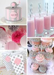 pink and gray baby shower inspirations pink and gray elephant baby shower sweet pea paperie