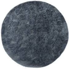 faux sheepskin round area rug u2013 project nursery