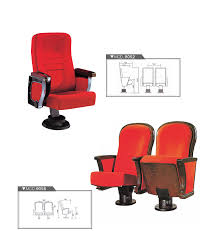 Top Office Furniture Companies by Modern Public Chair Cinema Church Movie Seating Auditorium Chair