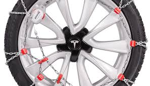 tesla model 3 snow chains for winter driving stocks masters