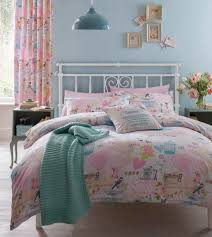 catherine lansfield vintage collage bedding collection