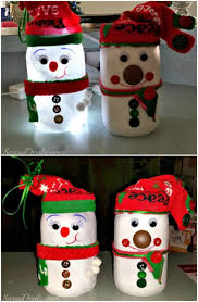 snowman decorations 12 magnificent jar christmas decorations you can make