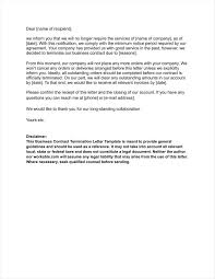Letter Confirming Termination Of Employment by 20 Agreement Termination Letters Free Word Pdf Excel Format
