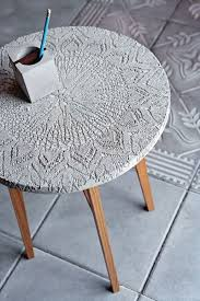Concrete Side Table 18 Diy Concrete Coffee And Side Tables