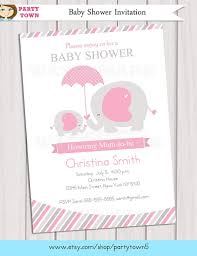 live inside my bubble pink elephant baby shower