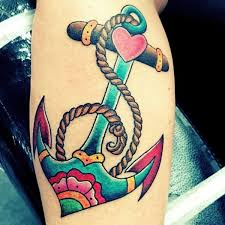 anchor tattoo designs for women pictures to pin on pinterest