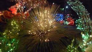 ethel m chocolate factory las vegas holiday lights cactus all decked out for the holidays