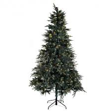 artificial prelit christmas trees 7 5 ft pre lit artificial christmas tree w stand 750 led lights