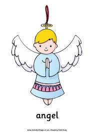 christmas angel angel poster
