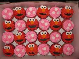 elmo cupcakes cupcakes
