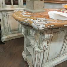 distressed kitchen islands corbels kitchen island majestic fog distressed