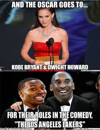 Memes Oscar - nba memes on twitter the los angeles lakers wins the oscar kobe