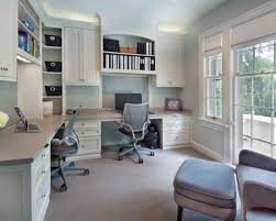 Home Office Designs For Two  Functional Home Office Designs Home - Functional home office design