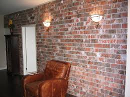 Fake Exposed Brick Wall Exposed Brick Walls Panels Design For Kitchen Ideas