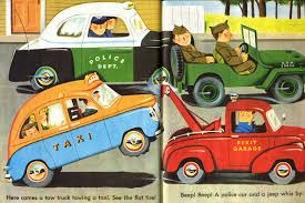 golden trucks miss sews it all golden book love