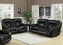 fancy black leather couch living room italian leather sofa