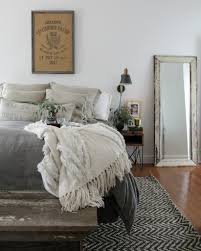 modern farmhouse bedroom simple furnishings natural materials