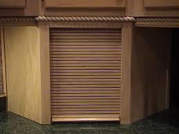 Roller Door Cabinets Appliance Cabinet Garage Cabinet Garage Diy Repaint Kitchen Cabinets
