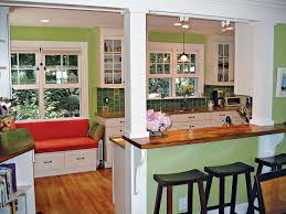 Kitchen Dining Room Remodel by Big Ideas For Small Spaces Home Remodeling Magazine