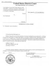 Civil Cover Sheet Federal by 2 Ccfc V Sccba Conformed Summons And Complaint Key Exhibit Set