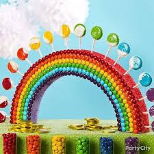 Birthday Candy Buffet Ideas by Best 25 Rainbow Candy Buffet Ideas On Pinterest Candy Themed