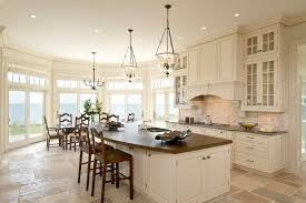 kitchen tile floor designs kitchen traditional with breakfast bar