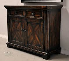 Dining Room Hutches Styles by Tuscan Style Rustic Dark Wood Dining Room Buffets Legrand