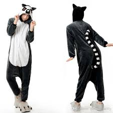 Halloween Onesie Costumes 2017 Long Tail Monkey Animal Onesies Kigurumi Pajamas Onesies