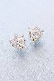 cd earrings wedding bridal vintage earrings shop now sweet spark
