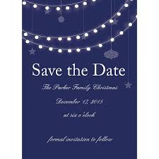 save the date invitation lights christmas party save the date cards