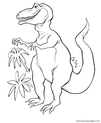 printable pictures dinosaur coloring pages