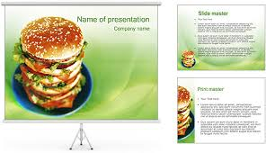 Fast Food Powerpoint Fast Food Powerpoint Template Tomium Ideas Fast Food Ppt