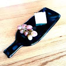 wine bottle cheese plate caduceus cheese plate
