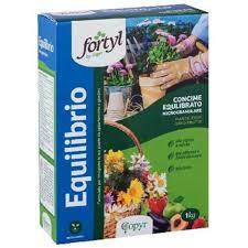 cura giardino copyr concime fortyl equilibrio 1 kg microgranulare naturale cura