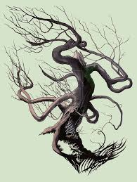 evil tree by cldahlstrom on deviantart building
