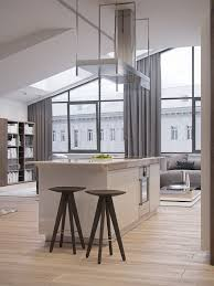 High End Kitchen Islands Kitchen Style Contemporary High End Kitchen Light Gray Flat Gloss