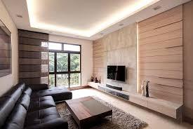 Classy Modern Condominium Living Area Design By Idees Interior - Modern condo interior design