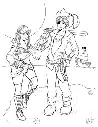 pirates coloring page by mevart studio on deviantart